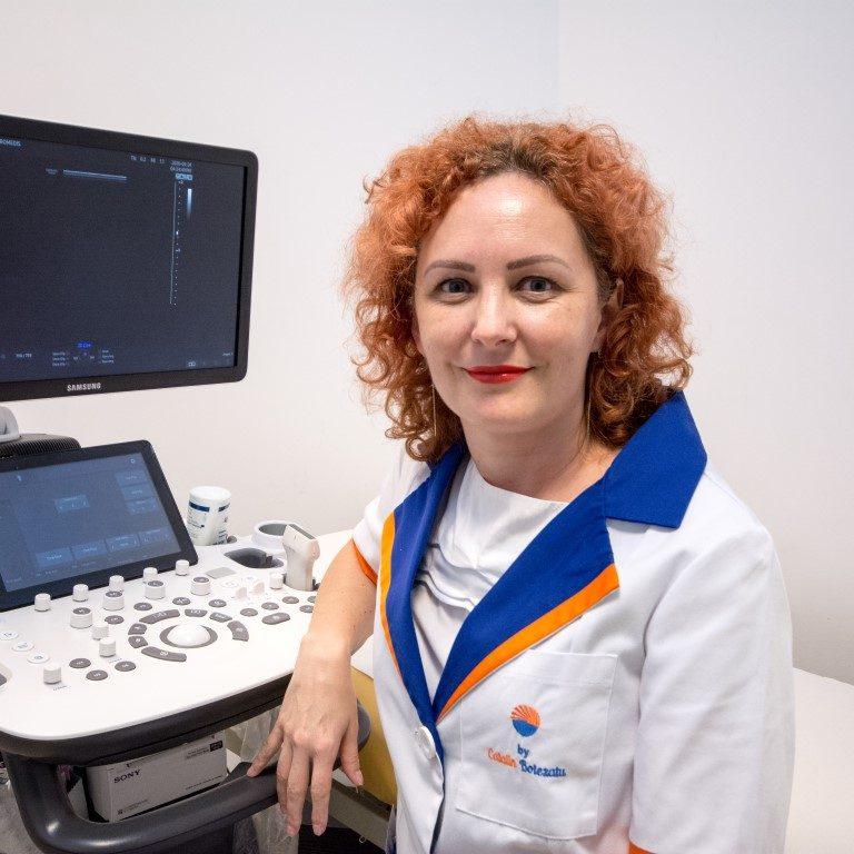 Dr. Diana Ionuț Medicină Internă Cluj ecografie